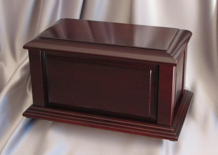 Manchester Satin Cherry | Valley Funeral Home
