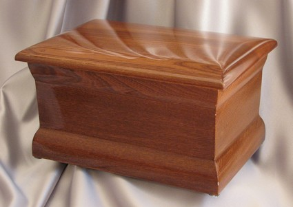 Polished Oak | Valley Funeral Home