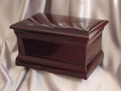 Polished Mahogany | Valley Funeral Home