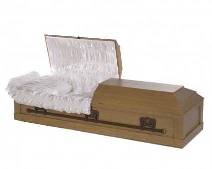Oak Veneer | Valley Funeral Home